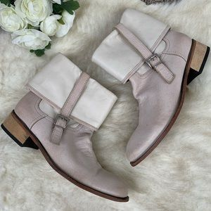 Shoes - Two tone Booties Size 37